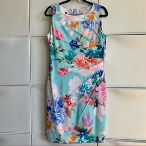 Calvin Klein Floral Dress. Size 12. New with tags.